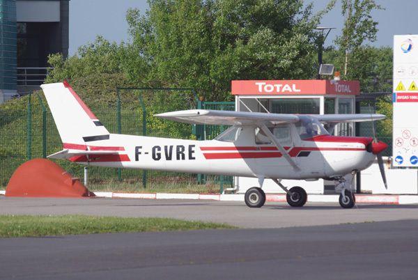 Le Cessna 152 F-GVRE.
