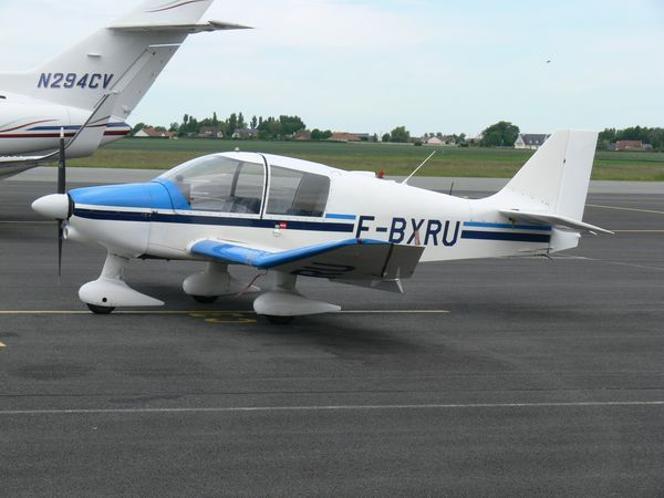 Le Robin DR-400 F-BXRU. (Photo: Laurent Lamouche)