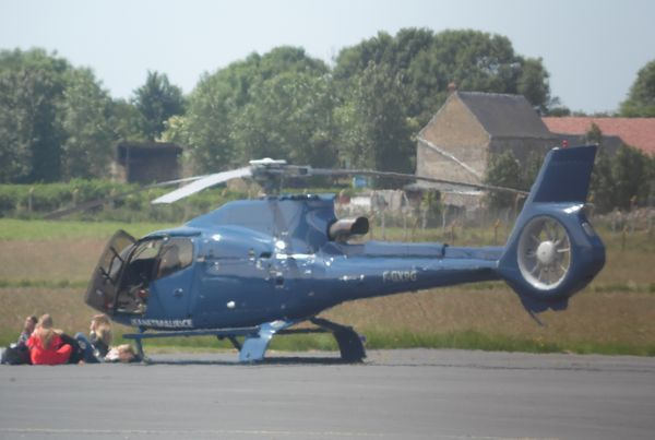 L'Eurocopter EC-120 F-GXPG. (photo: Michel Liot)