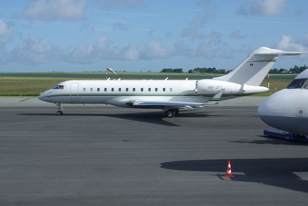 Le Bombardier BD-700-1A10 Global Express HB-JFY.