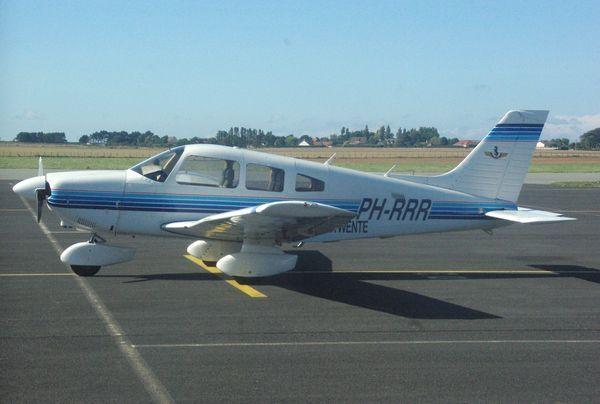 Le Piper PA-28 PH-RRR.