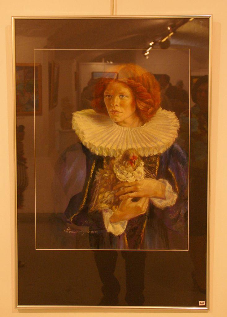Femme Renaissance de Irina HOERNER