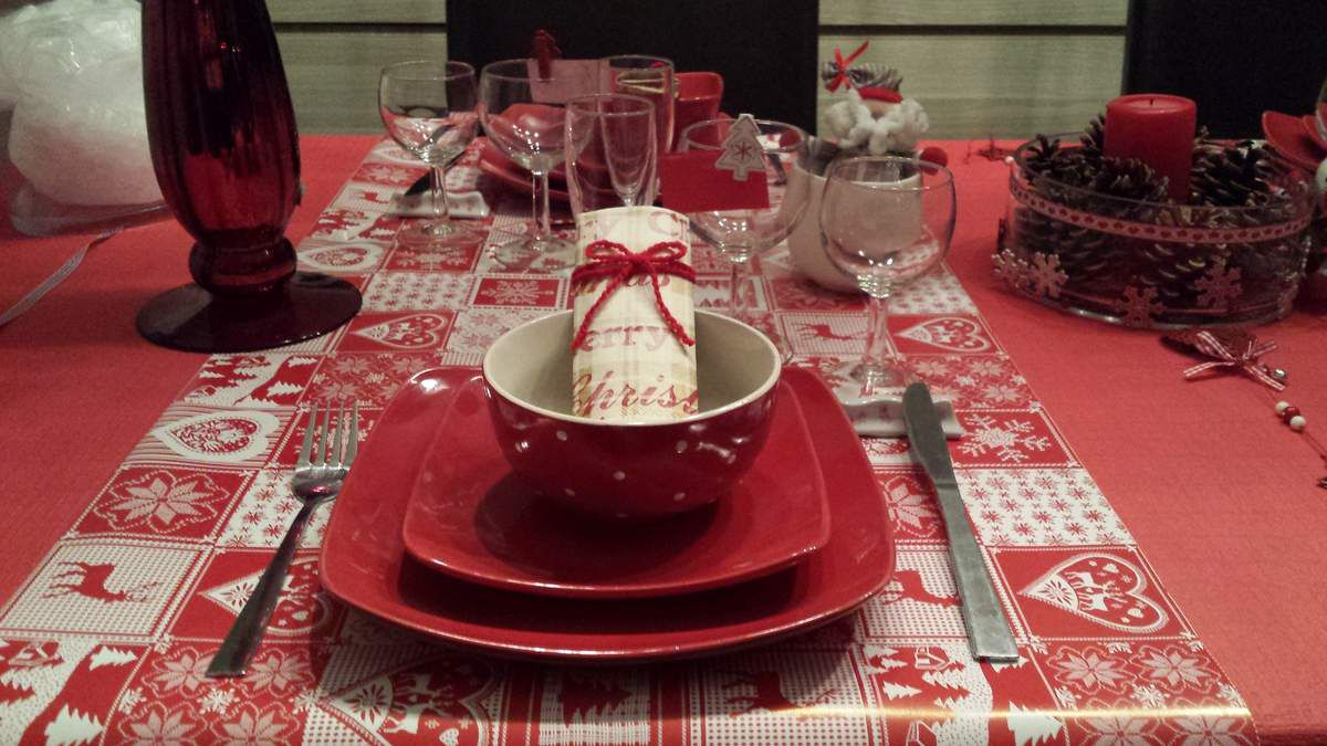 La table de noël traditionnelle