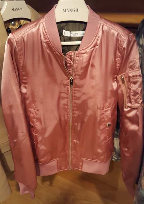 Bombers satin Rose - Mango