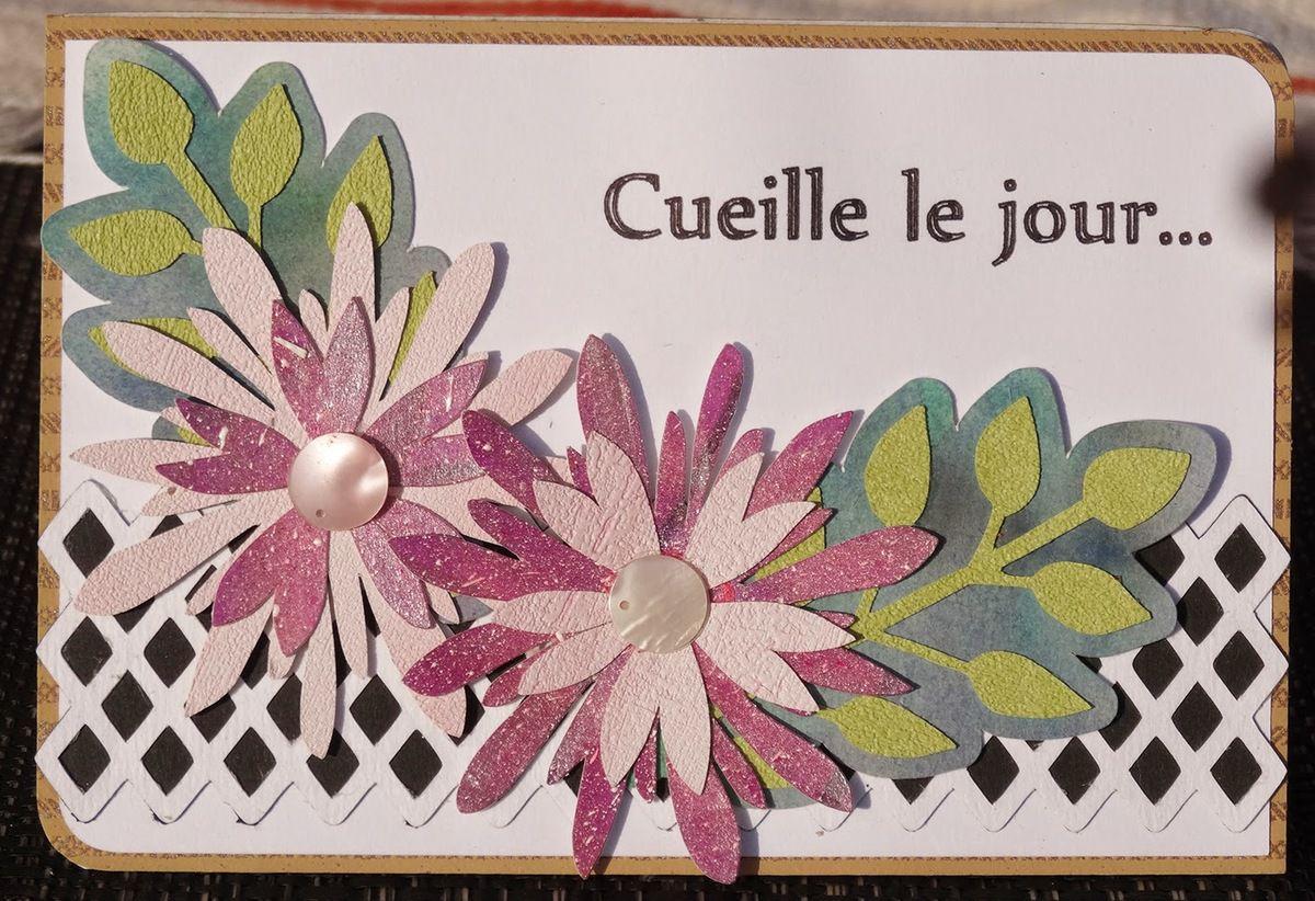 Carte fleurs sst