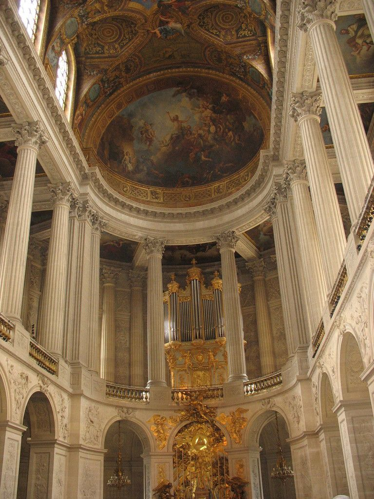 La chapelle royale de LOUIS XIV