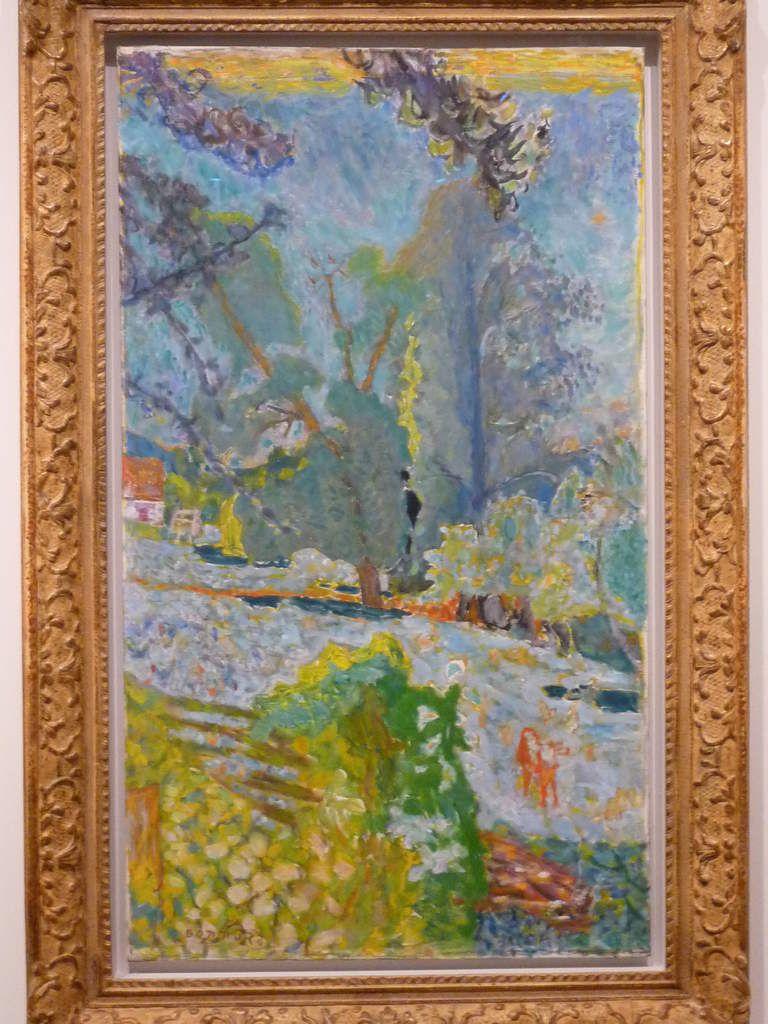 Bonnard et 2 Picasso ( pour chaque peintre des oeuvres majeures !)