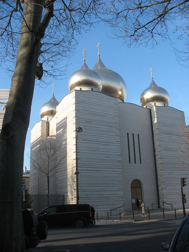 LA CATHEDRALE ORTHODOXE RUSSE