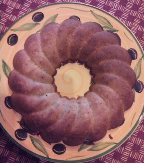 Gâteau moelleux au citron - sans sucres / sans gras -