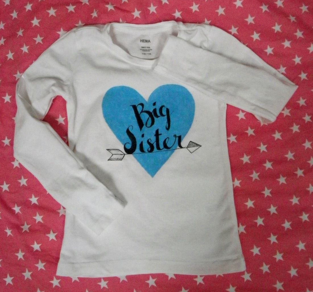 Sister box : un t-shirt DIY