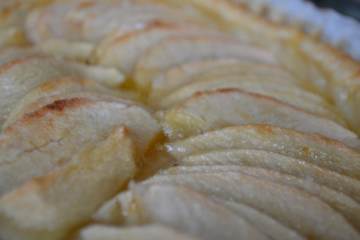 Homemade &#x3B; Tarte aux pommes pour après midi pluvieux
