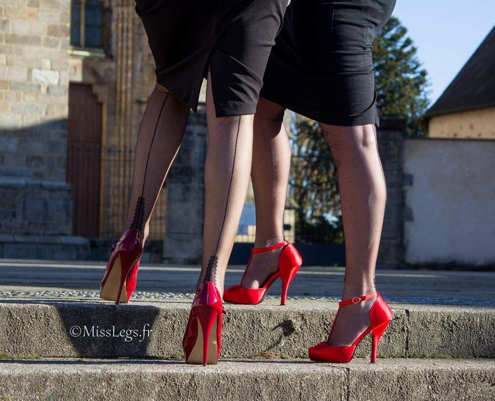 Isabelle Cervin (basdesoie.over-blog.com) et MissLegs