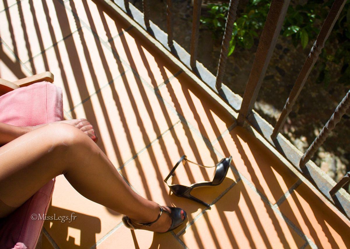 Bas nylon Capri RHT Cervin - Sandales Prima Donna