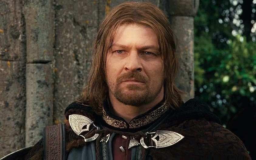 "Boromir dit ""Boro"" joué par Sean Bean"