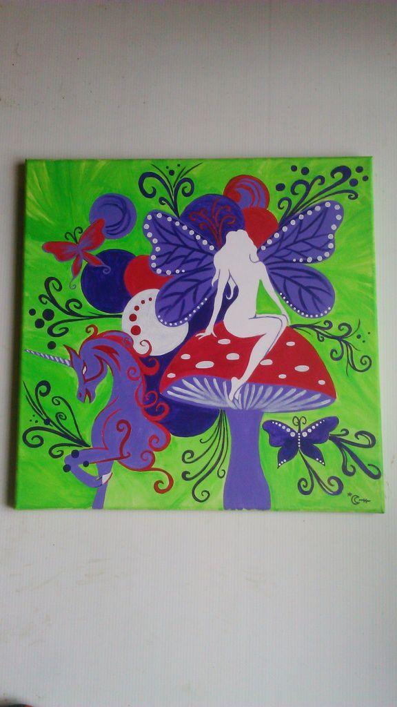 La fée et la licorne