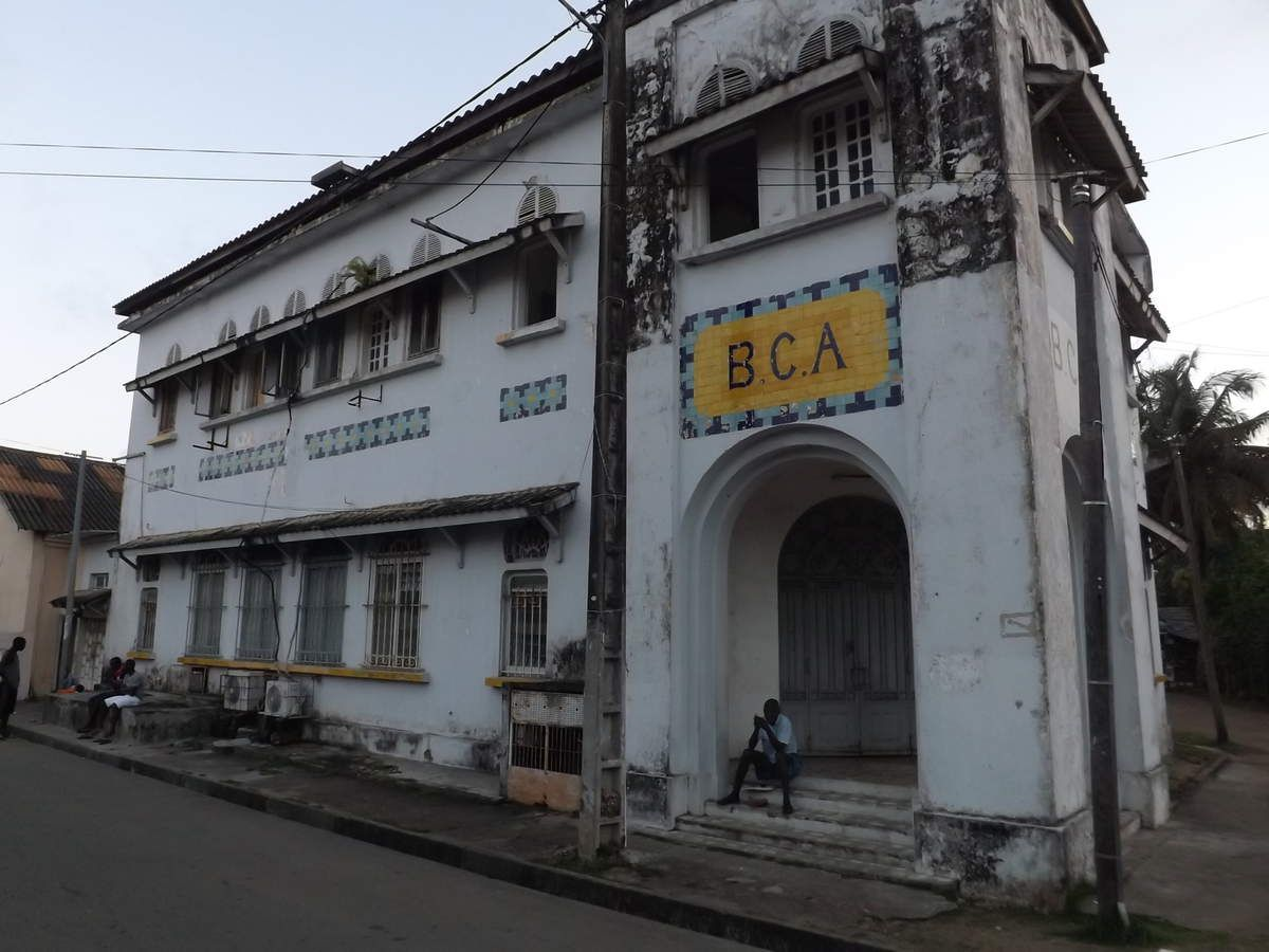 Banque Coloniale à Grand Bassam