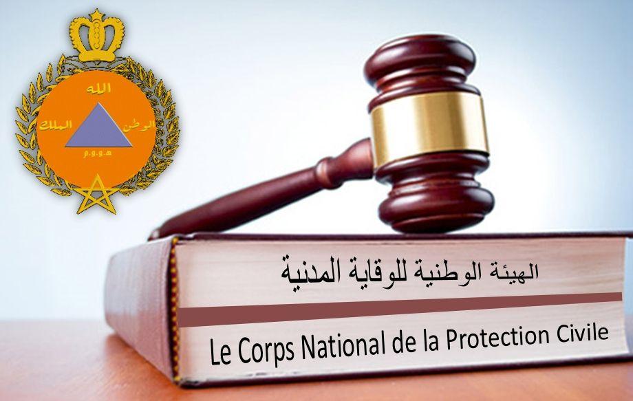 Statut particulier du corps national de la Protection Civile