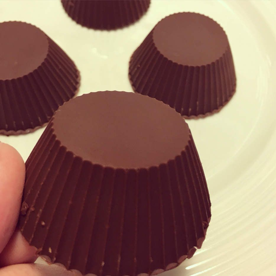 Petites coupes chocolatées
