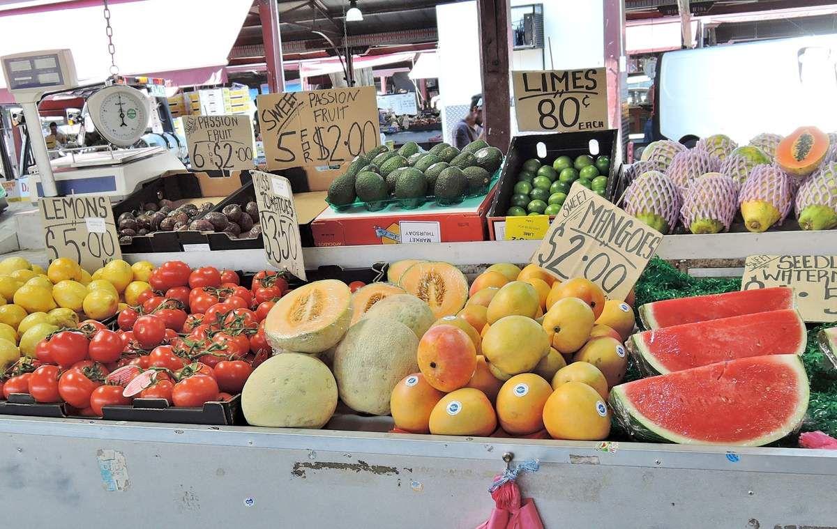 Melbourne .2. Queen Victoria Market