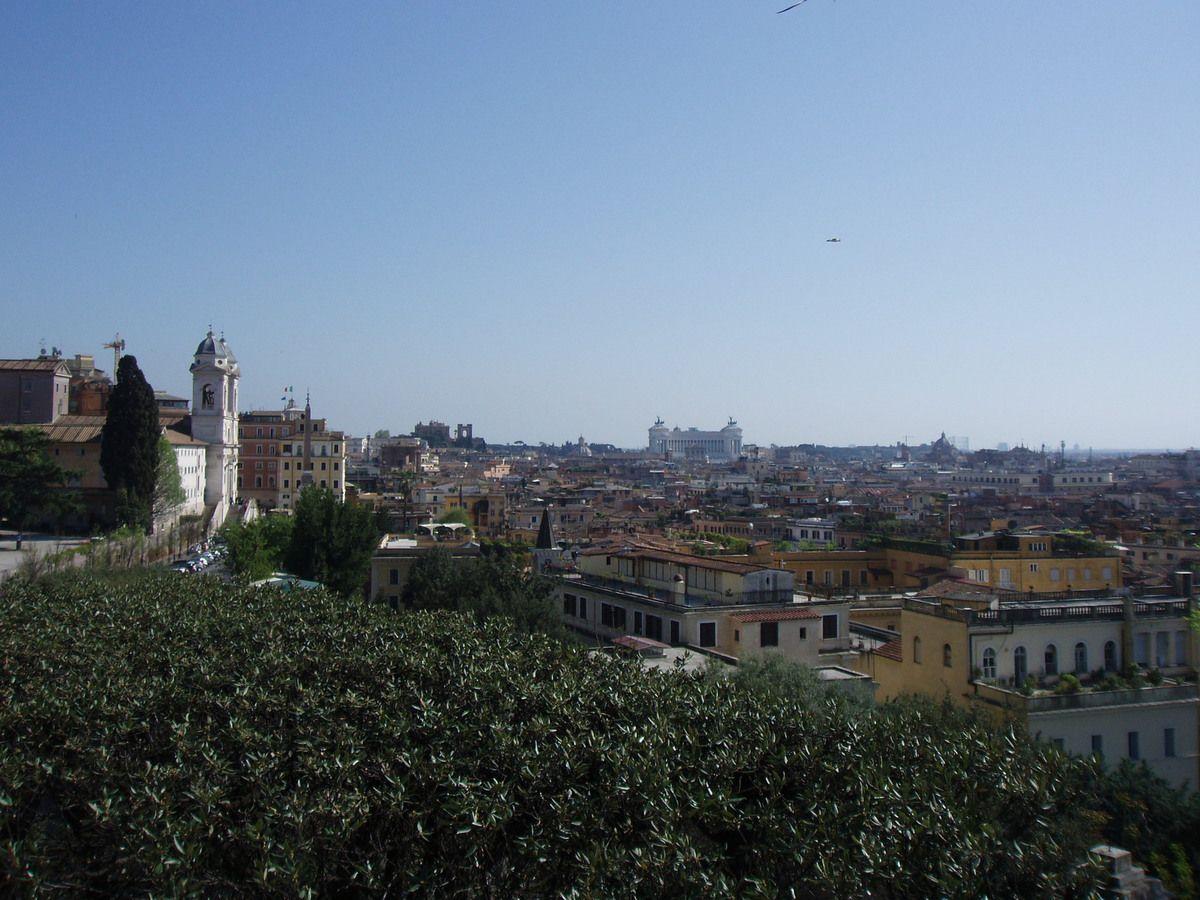 Rome vue depuis la Villa