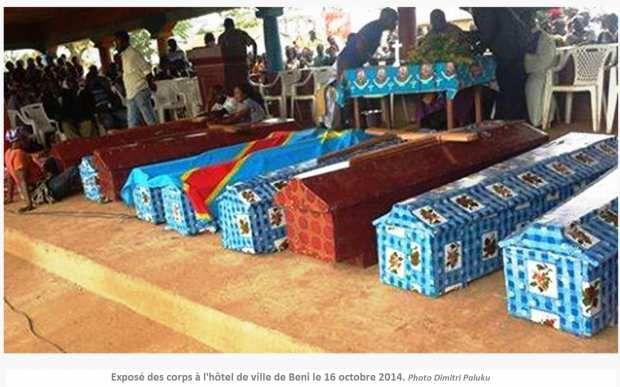 CENTO PERSONE MASSACRATE NELL'EST DELLA RDC