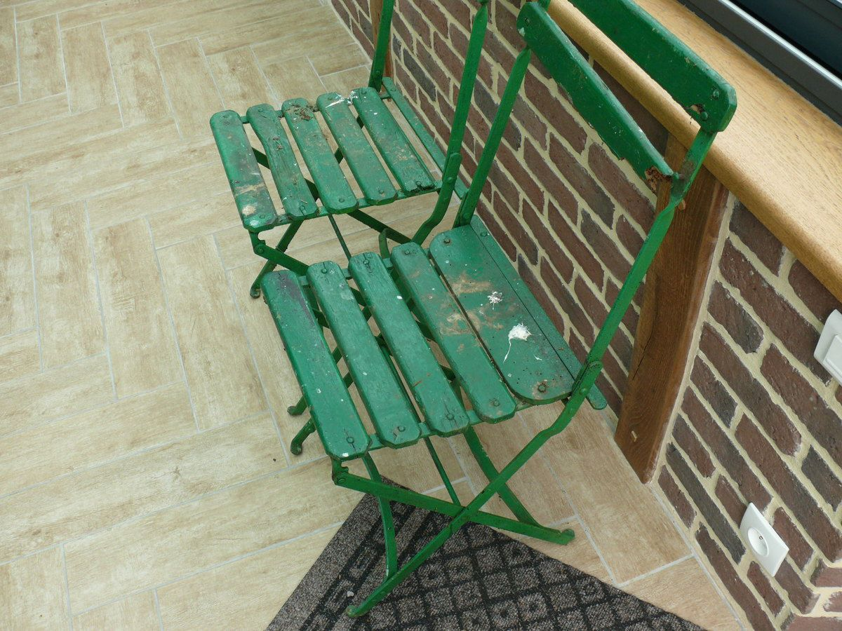 Chaises Bistrot Anciennes. Affordable Anciennes Chaises Bistrot En ...