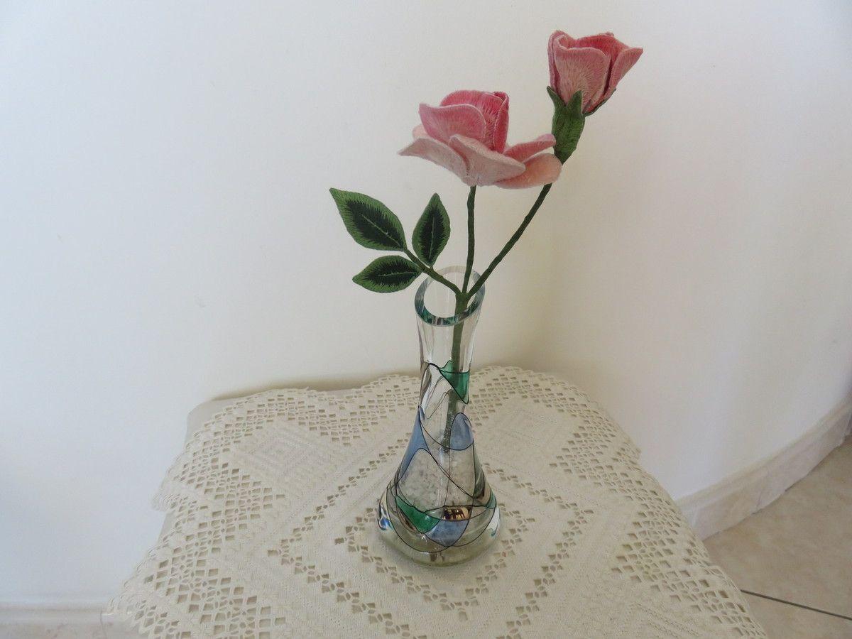 Fleurs en Stumwork