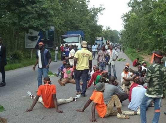 #Civ: jeux de la francophonie/la tension monte à Bouaké, un groupe d'ex-combattants menace