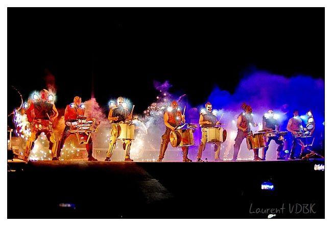 Danbor Talka (Le choc des tambours) par Les Commandos Percu et Deabru Beltzak