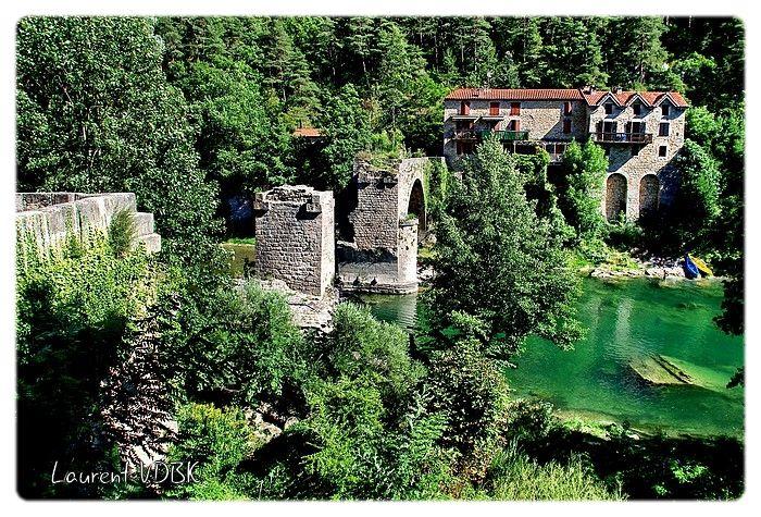 Le pont cassé de La Muse - Tarn