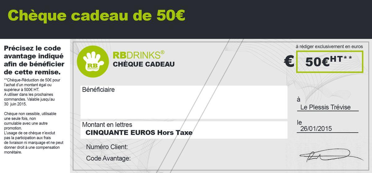 Chèque-Réduction 50€