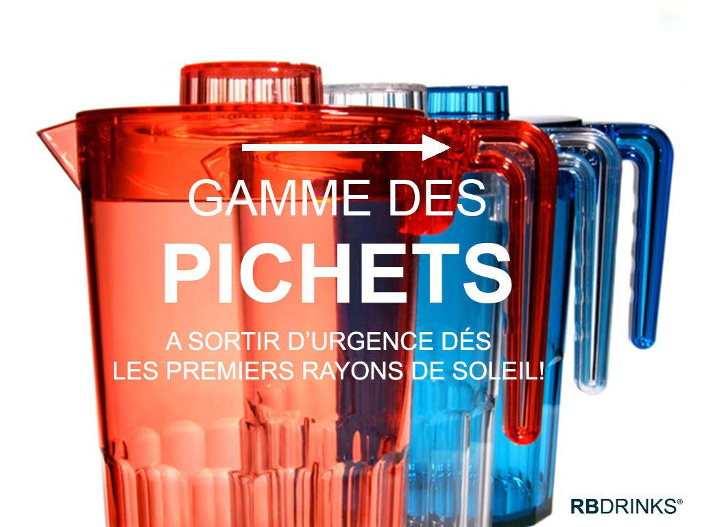 Notre Pichets RBDRINKS®