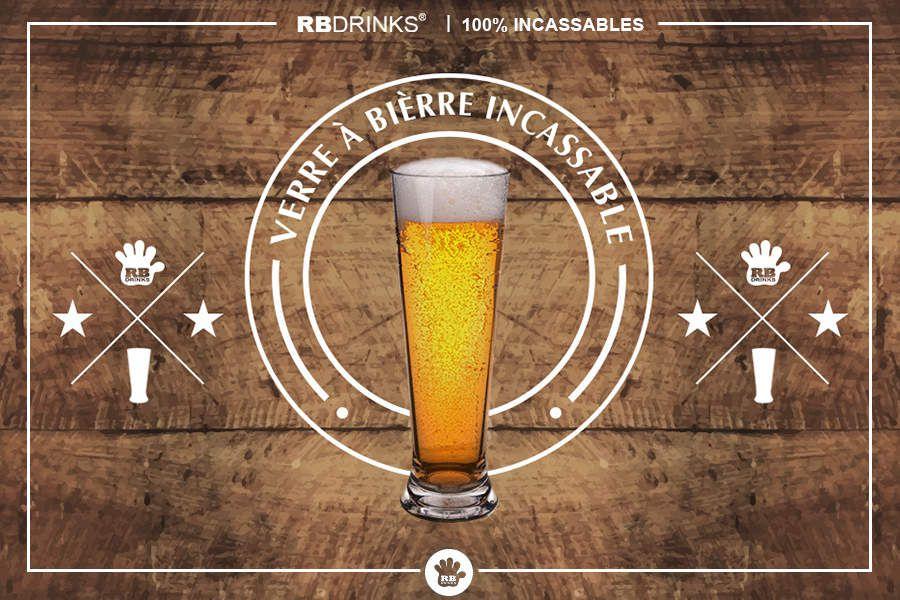 Verres à bière incassables   RBDRINKS®