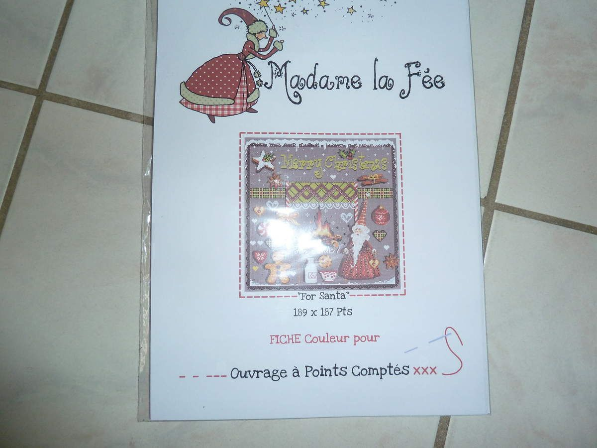 madame la fée for santa