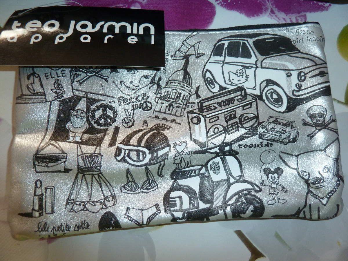 le sac et sa pochette Teo Jasmin