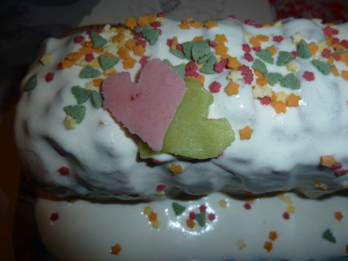 le gâteau cupidon de chez NICOLE PASSION facile a faire et délicieux