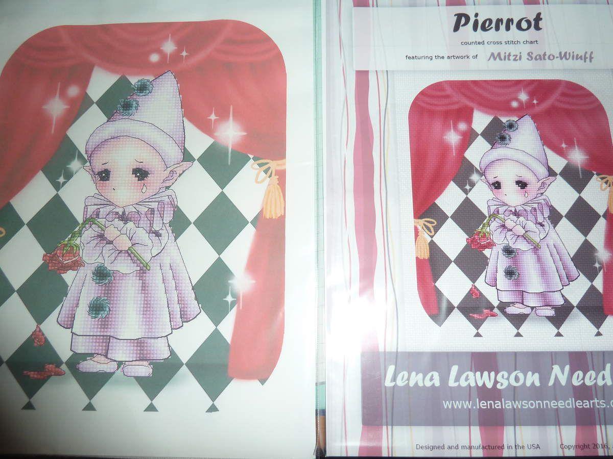 la grille et la toile assortie Pierrot