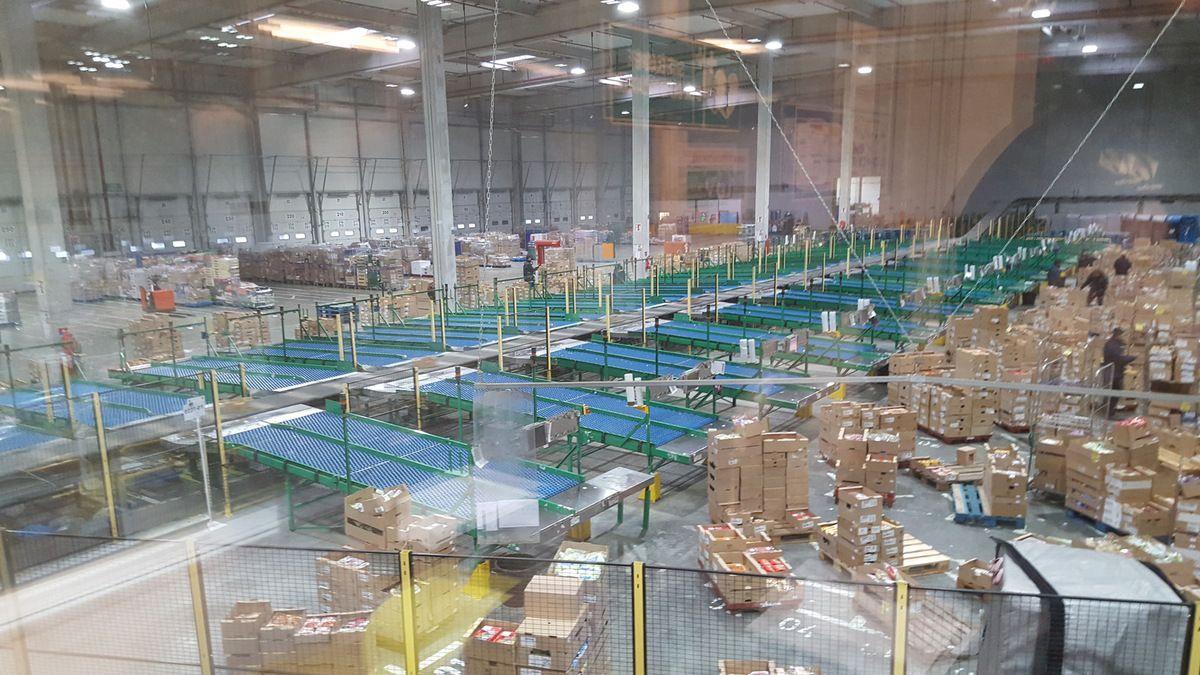 Lundi 26 juin, visite du site frais Carrefour de SENNECE LES MACON