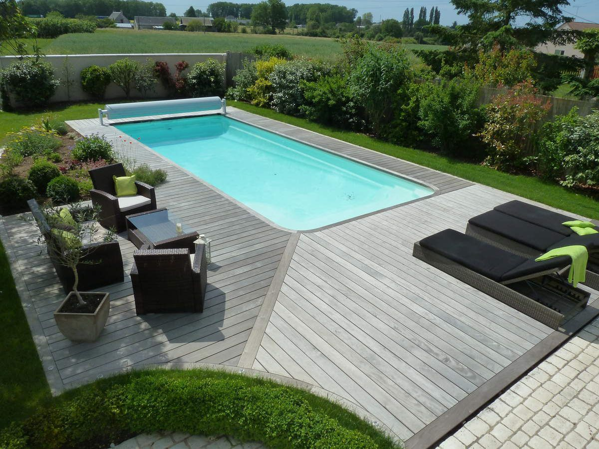 France terrasse bois le sp cialiste de la terrasse en for Piscine teck semi enterree