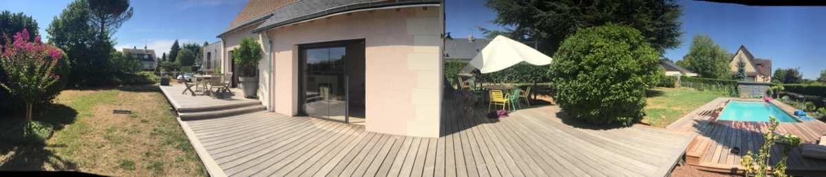 Terrasse bois et plage de piscine bois  France terrasse bois
