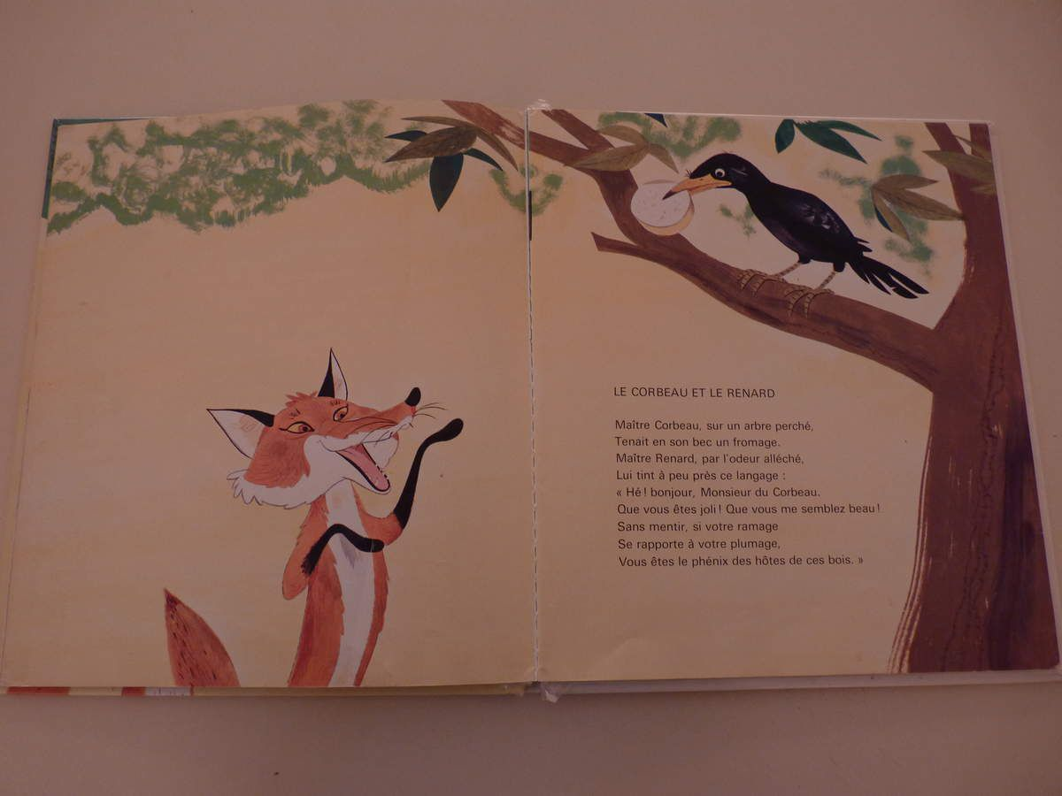 Maître Corbeau sur un arbre perché...