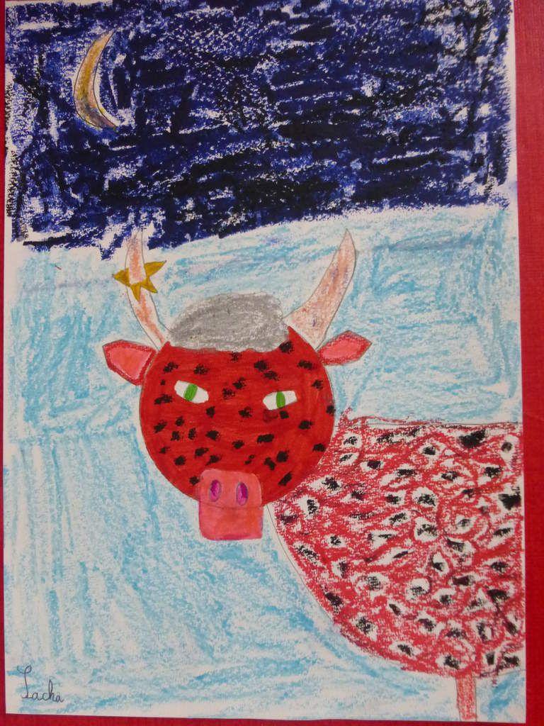 La vache rouge de Sacha