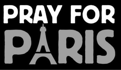 Pray for Paris, 13 Novembre