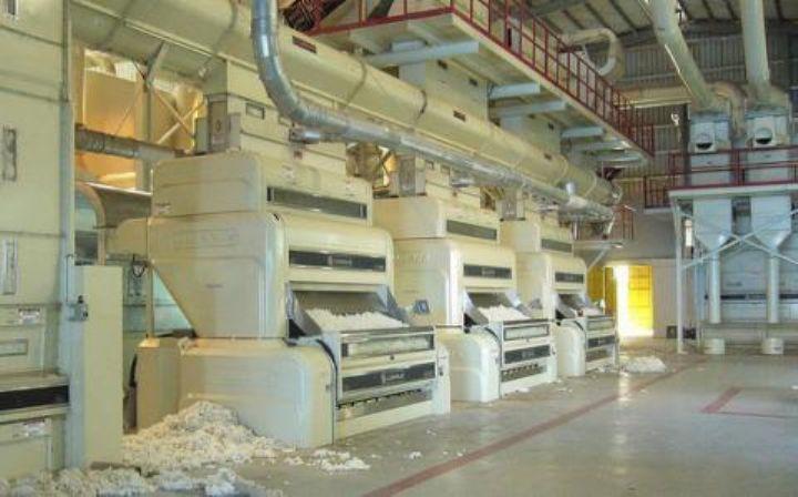 photo d,une usine de coton (dr)