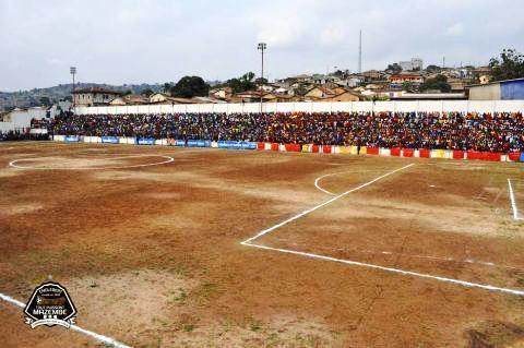 Le stade Lumumba de Matadi, avant les travaux