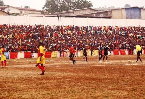 Le stade Lumumba de Matadi avant les travaux