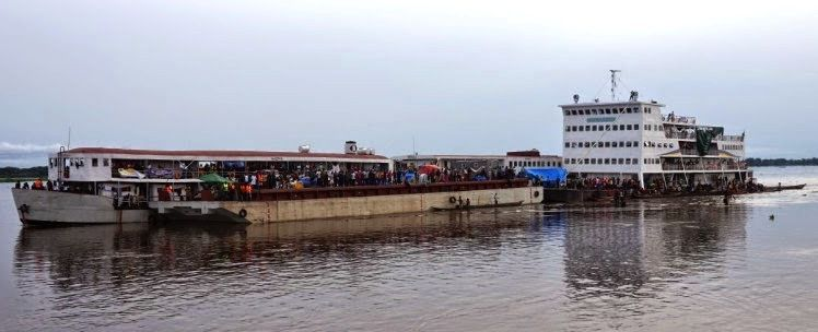 L'ITB Kokolo abordant Kinshasa