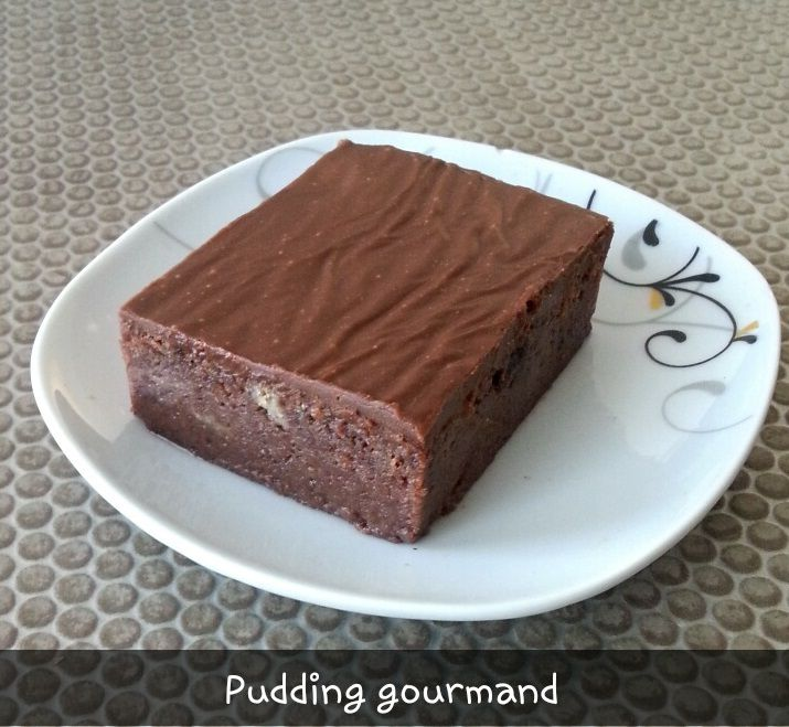 Pudding gourmand