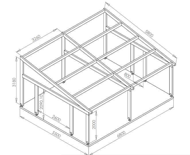 construction d'un garage : les plans - auto construction d'une ... - Construction D Un Garage En Bois
