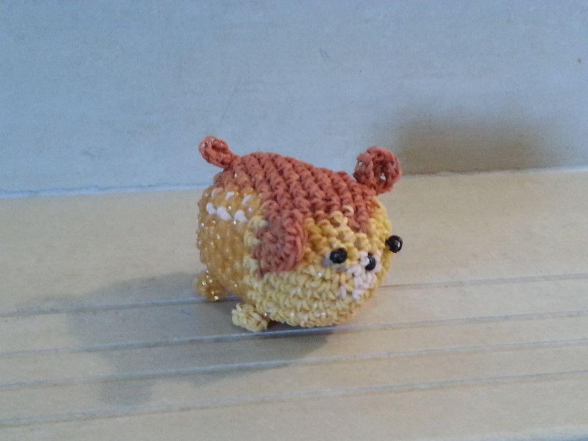 Bambi loomigurumi inspiré des Tsum Tsum